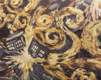 Springs Creative Dr Who Exploding Tardis Fabric