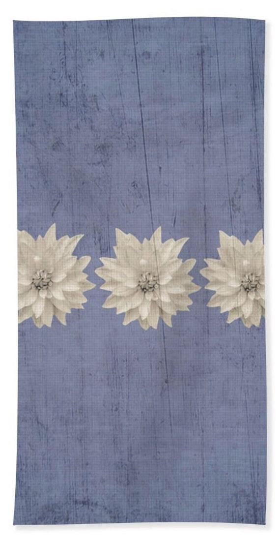Unique Lilac Grey Rustic Floral Hand Towels Bath Towels And