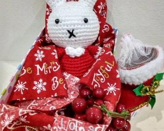 Handmade Bunny Crochet Doll