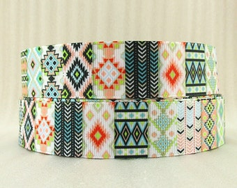 Aztec 1 inch Ribbon by the yard