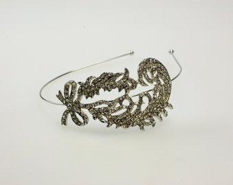 Rhinestone Flapper Headband - Style 4286