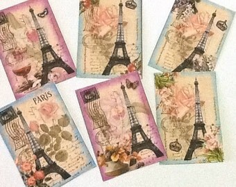 9 Shabby Chic French Tags