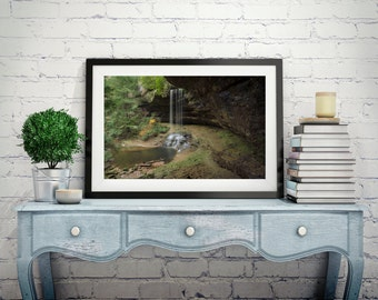 Tennessee Print - Landscape Photography Print - Waterfall Print
