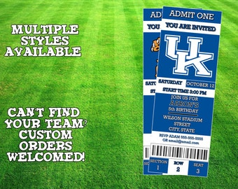 Kentucky Wildcats Invitation
