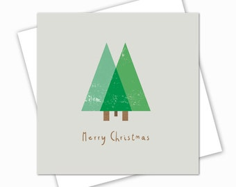 Christmas Tree Card, Christmas Cards, Cards Christmas, Xmas Cards, Minimal Christmas Cards, Merry Christmas, holiday cards, Pack of Cards