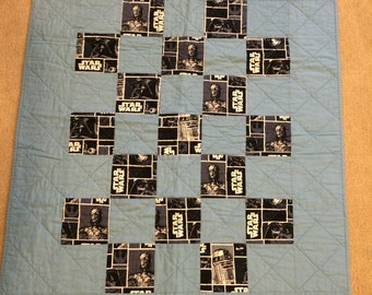 Star Wars Baby Quilt - Crib Size