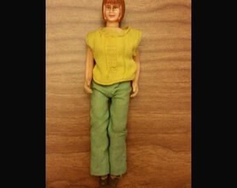 Vintage Tonka woman figure