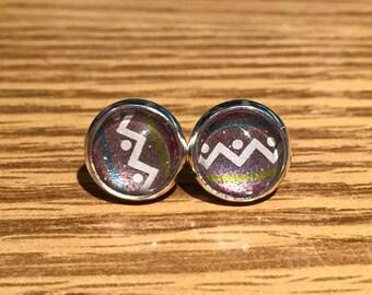 10mm Easter Egg Stud Earrings