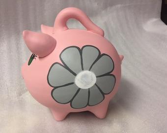 Piggy Bank: A touch of gray
