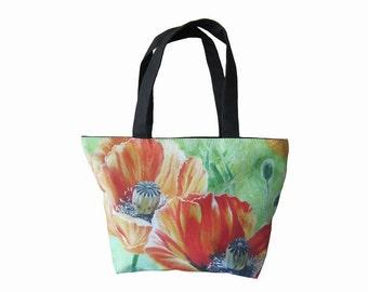 """Handbag for the girls """"Poppies"""""""