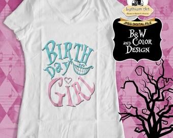 Alice in Wonderland Iron On Transfer - Alice in Wonderland tshirt Design - Printable Shirt Design - DIY Shirt - Alice in Wonderland Shirt