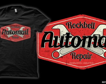 Rockbell Automail Repair - Fullmetal Alchemist anime T-Shirt