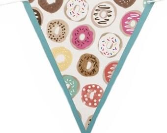 Donut Banner - RTS Banner - Donut Party - Donut Decoration - Donut Birthday - Donut Garland - Kids Room - Nursery Decor - Doughnut