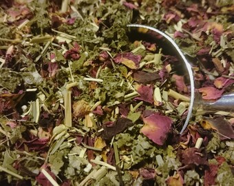 Summer Garden: Organic Tisane (Herbal Tea) Blend
