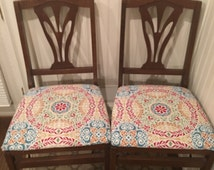 Vintage Stakmore Reupholstered Folding Chairs - Set of 4
