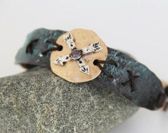 man NAVAROS metal vintage bracelet