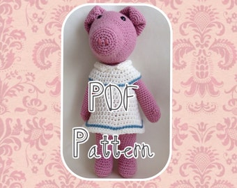 Penelope the Pig Crochet Pattern