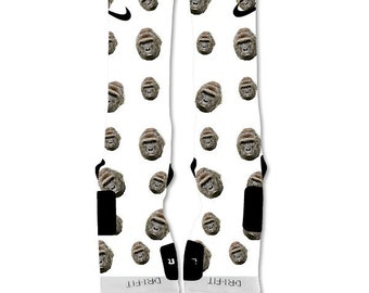 Custom Nike Elite Sock Harambe The Gorilla
