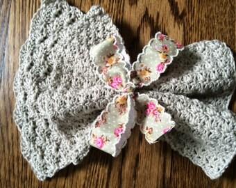 100% Organic Cotton Facecloth