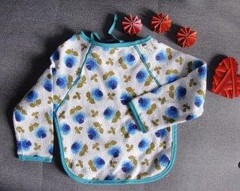 Bib apron vintage flowery