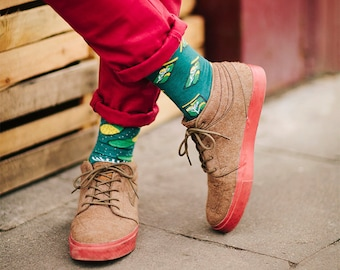 The Pickles socks   men socks   colorful socks   cool socks   mismatched socks   womens socks   unique socks   patterned socks   crazy socks