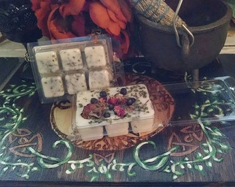 House Blessings Soy Wax Clamshell Spell Tarts Melts