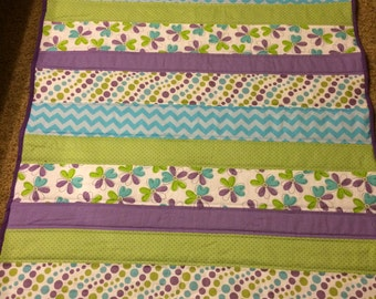 Bright and Cheerful Baby Quilt