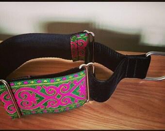 "2"" Vibrant Martingale Collar Greyhound Lurcher Sighthound"