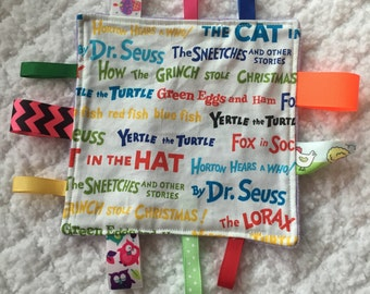 Dr Seuss Baby Sensory Toy