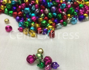7mm Mixed Colour Jingle Bells