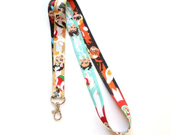 Haikyuu Friends Lanyard