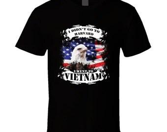 Vietnam Veteran t-shirt. Vietnam Veteran tshirt for him or her. Vietnam Veteran tee as a Vietnam Veteran idea gift. A great Vietnam shirt