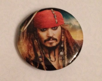Jack Sparrow Inspired 1 Inch Button!