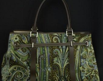 TUMI Patterned Large Handbag