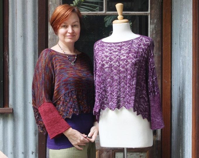 Chevron Linier Sweater Pattern.  PATTERN ONLY!!!