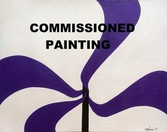 """Commission - 39"""" x 39"""""""