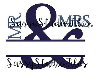 MR & MRS Silhouette Studio File