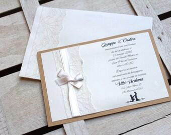 Wedding Invitation • Shabby •