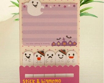 Halloween bookmark set