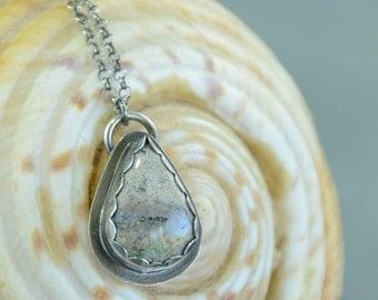 Silver Pendant,Ocean Jasper Pendant, Sterling Silver, Ocean Jasper, Silversmith, Metalsmith, Artisan, Handmade, Necklace, Pendant