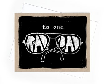 Card // Father's Day // Rad Dad