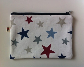 makeup bag/pencil case/cosmetic bag/cosmetic purse/zip pouch/zipper purse/bags and purses/makeup storage/cosmetic storage