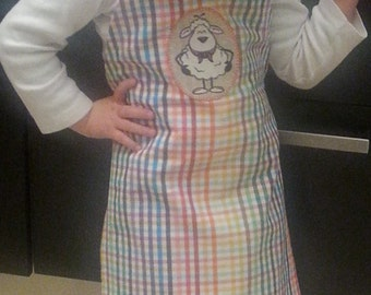 Kitchen apron for child