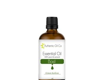 Basil Essential Oil 100% Pure 10ml 50ml 100ml