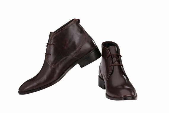 mens chukka boots with leather sole jacksin boots