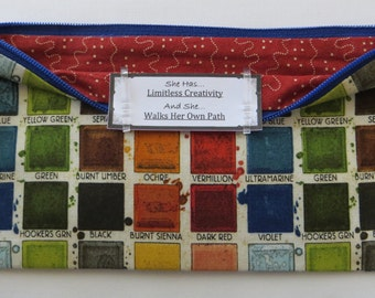 Persette #76 Personalized Zippered Organizing Pouch
