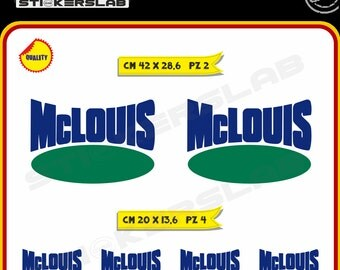 Stickers kit camper caravan roulotte  MCLOUIS Mc Louis Vinyl Decal Pegatinas Adesivos Cod.0053