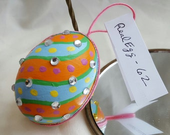 REAL EGG ORNAMENTS  -Chistmas and Easter