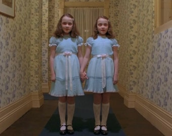 The Shining Twins Still Shot from The Shining 1980 Drama film/Thriller