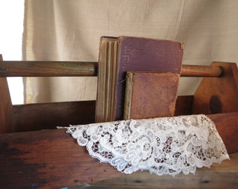Handmade Wood Tool Box | Vintage Wood Carrier | Farmhouse Rustic Primitive Display Box